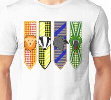 Hogwarts House Mascot Banners Unisex T-Shirt