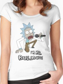 Rick and Morty – I'm Mr. Bulldops Women's Fitted Scoop T-Shirt