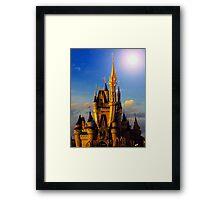 Castle of beauty Framed Print