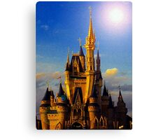 Castle of beauty Canvas Print