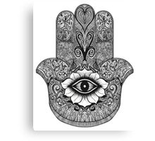 Mandala Hand: Merch Canvas Print