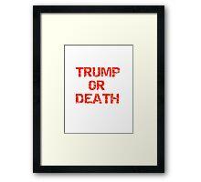 Trump Framed Print