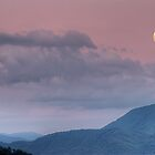 A Smoky Mountain Moonrise by James Hoffman