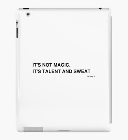 Silicon Valley -- It's Not Magic iPad Case/Skin