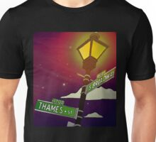 South Broadway and Thames Street Unisex T-Shirt
