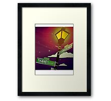 South Broadway and Thames Street Framed Print