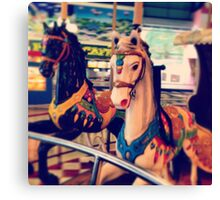 merry-go -round  Canvas Print
