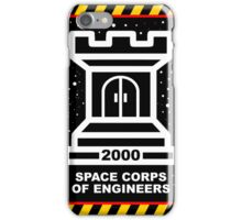 Space Cops of Engineers iPhone Case/Skin