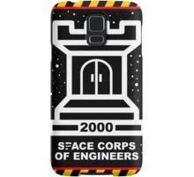 Space Cops of Engineers Samsung Galaxy Case/Skin
