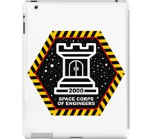 Space Cops of Engineers iPad Case/Skin