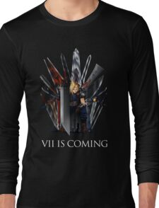 Final Fantasy and Game of Thrones mashup Long Sleeve T-Shirt
