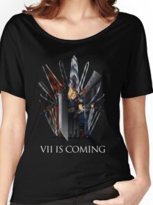 Final Fantasy and Game of Thrones mashup Women's Relaxed Fit T-Shirt