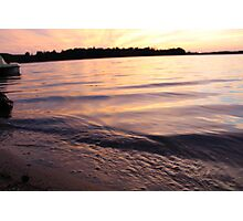 Lake Ripples Photographic Print