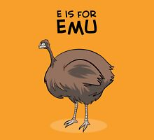 E is for Emu Unisex T-Shirt