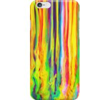 Colourful Dripping Paint Streaks iPhone Case/Skin