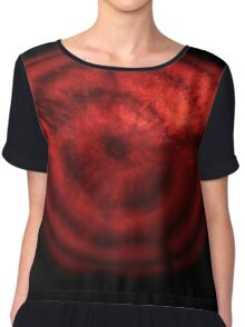 Red beetroot cross-section Chiffon Top