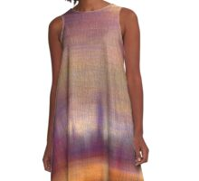 Nightscape A-Line Dress