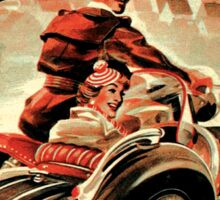 Steib Vintage Motorcycle sidecars Sticker