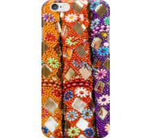 Colourful floral seemless background iPhone Case/Skin