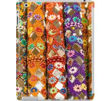 Colourful floral seemless background iPad Case/Skin
