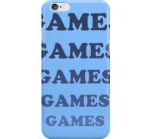 Games Games Games iPhone Case/Skin