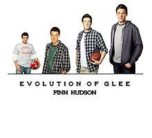 Evolution of Glee || Finn Hudson by linked-pinkies