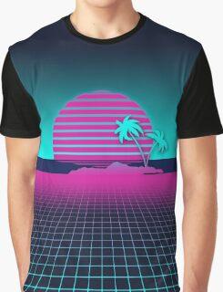 Neon Sunset Graphic T-Shirt