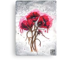 Lisa's Poppies Canvas Print