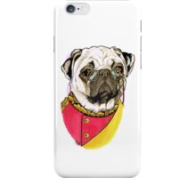 Victorian Pug iPhone Case/Skin