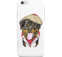Victorian Rottweiller iPhone Case/Skin