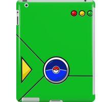 Pokedex GO Green iPad Case/Skin