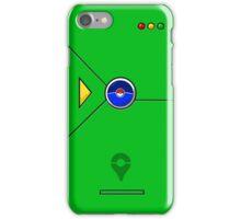 Pokedex GO Green iPhone Case/Skin
