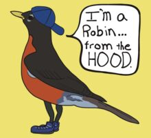 Robin from the Hood - Da Funny Hipster Words Baby Tee