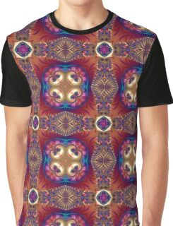 Fractal, mandala, pattern, art, science, spirituality, infinity, ornaments, dream, evolution, beautiful, kaleidoscope Graphic T-Shirt