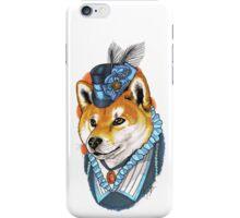 Victorian Shiba Inu iPhone Case/Skin
