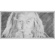 Gandalf the Grey Photographic Print