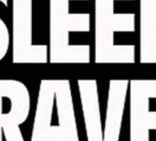 """Eat Sleep Rave Repeat"" Sticker"