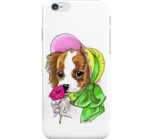 Victorian King Charles Spaniel iPhone Case/Skin