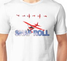 Aerobatic Airplane Snap Roll Maneuver Unisex T-Shirt