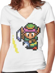 A Link To The Past Women's Fitted V-Neck T-Shirt
