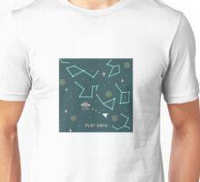asteroids 8 bits Unisex T-Shirt