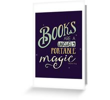 Books = Magic Greeting Card