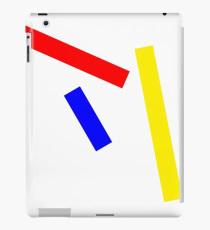 Abstract basic colors iPad Case/Skin