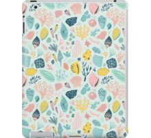 Colourful happy pattern for sea lovers! iPad Case/Skin