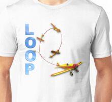 Aerobatic Airplane Loop Maneuver Unisex T-Shirt