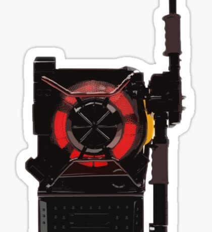 Ghostbusters 2016 - Proton Pack Prototype Sticker