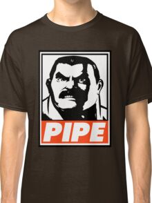 Haggar Pipe Obey Design Classic T-Shirt