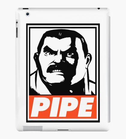 Haggar Pipe Obey Design iPad Case/Skin