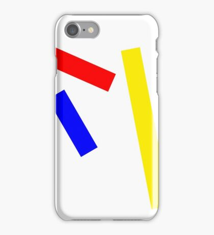 Abstract basic colors iPhone Case/Skin
