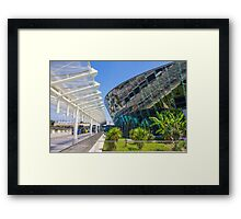 """Cote d'Azure"" Airport of Nice, FRANCE Framed Print"